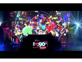 'I love the 90's'-livestream trekt 25.000 kijkers