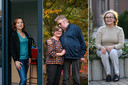 Katrien Van Nuffel, Frank Dierickx (60) en zijn vrouw, Joanne Rosiers