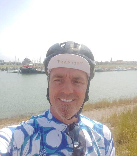 François Kint uit Terneuzen fietst heel Nederland door als de Traptist