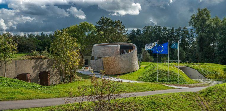 Fort Diemerdam en paviljoen Puur Beeld John Lewis Marshall
