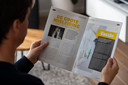 Het blad 'Eyeopener' van evangelist Jaap Dieleman uit Zeewolde. Met het magazine wil hij Nederland waarschuwen.
