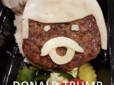 Achterhoeks cafetaria komt met Donald Trump-burger