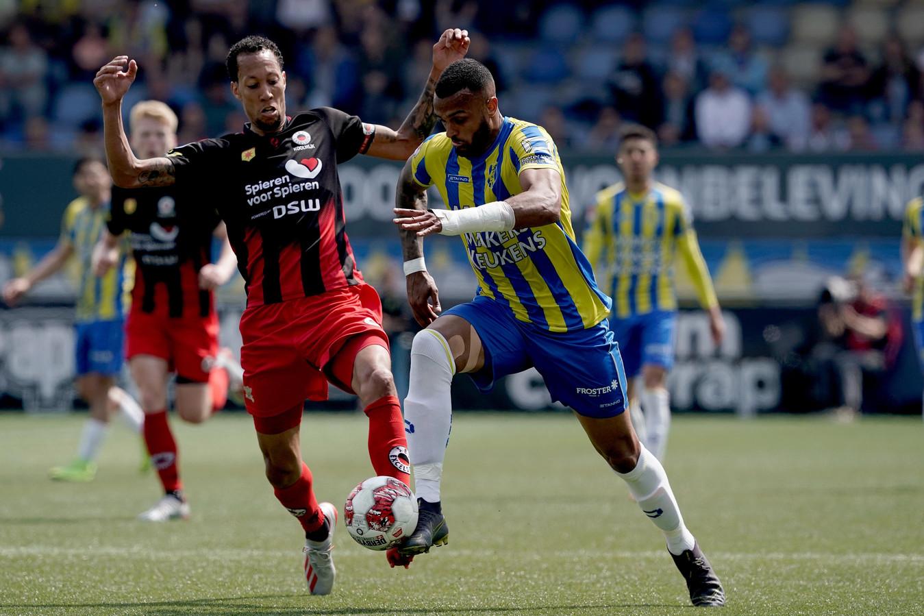 Mario Bilate tekende voor de 1-0.