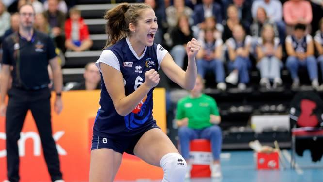 """Charlotte Coppin (VDK Gent): """"Eerst focussen op de bekerwedstrijd tegen Michelbeke, daarna hebben we nog tijd genoeg om gezellig bij te praten"""""""