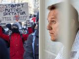 Navalny-aanhangers demonstreren tegen zijn gevangenschap