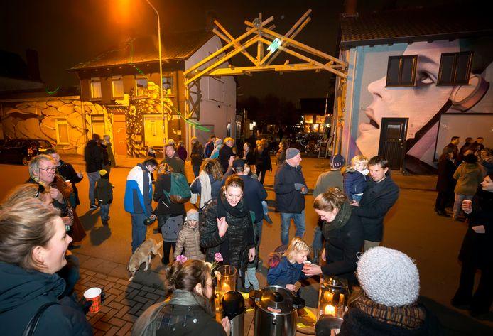 BREDA, Pix4Profs/Joyce van Belkom. Feestelijke opening van de nieuwe poort bij STEK.