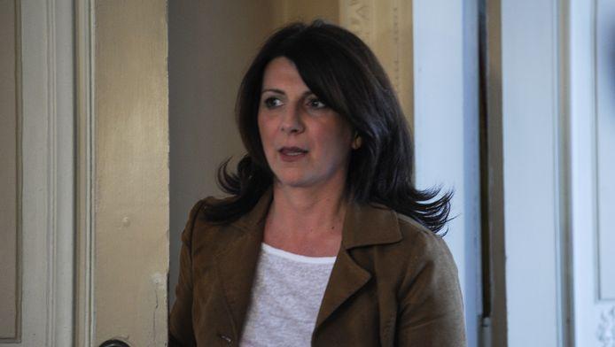 Muriel Targnion, bourgmestre de Verviers.