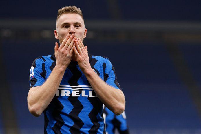 Skriniar de gevierde man bij Inter.