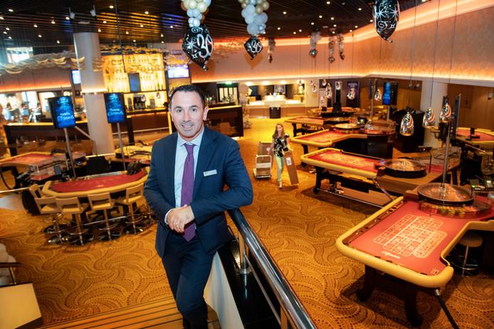 Nijmegen/Nederland: Arno Bongers, directeur casino NijmegenDgfotofoto: Bert Beelen