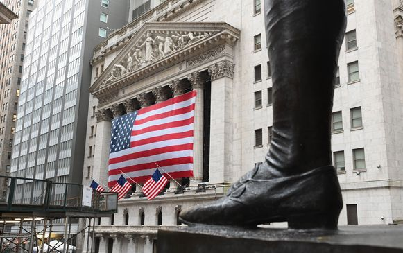 Beeld ter illustratie, Federal Reserve draait geldkraan open op ongeziene manier.