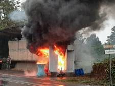 Populaire worstkraam 'Hans Wurst' in Wyler afgebrand