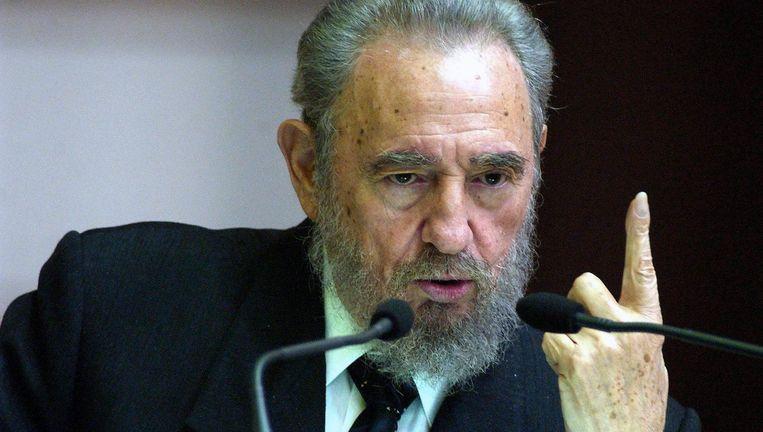 Fidel Castro Beeld epa
