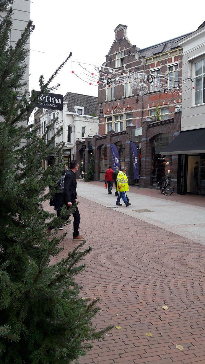 Er heerst weer een kerstsfeer in de stad