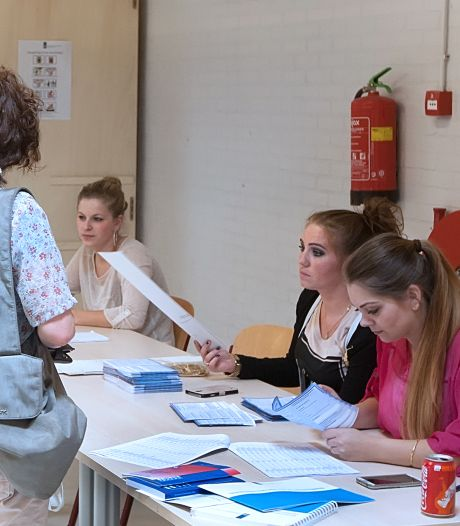 Urenlang mondkapje op is afzien op Deventer stembureaus