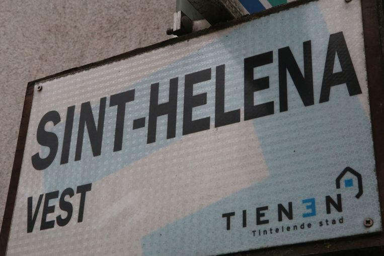 Sint-Helenavest is nog een voorbeeld van een vrouwelijke straatnaam in het Tiense.