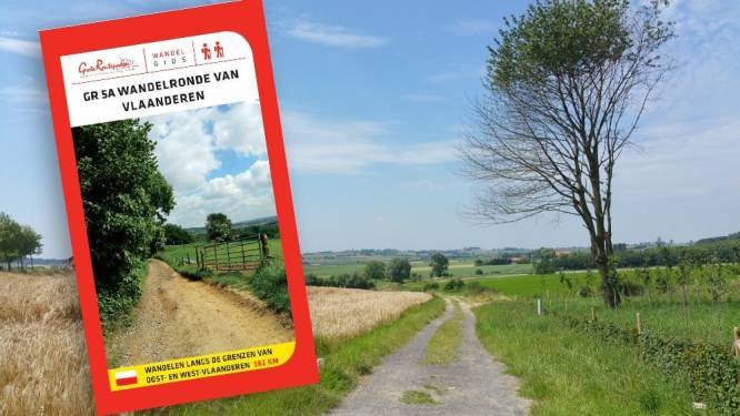 Wandelroute van Vlaanderen is de langste van Europa én ze loopt door Ronse