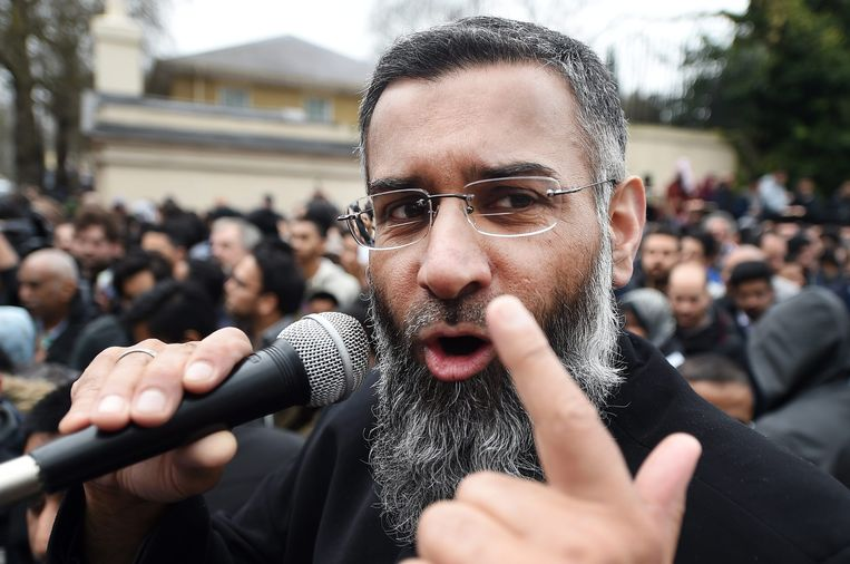Anjem Choudary in 2015.
