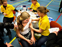 Archieffoto van een vaccinatie tegen baarmoederhalskanker in Helmond.
