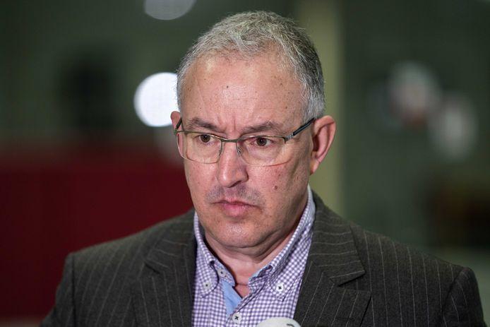 Burgemeester Ahmed Aboutaleb van Rotterdam.