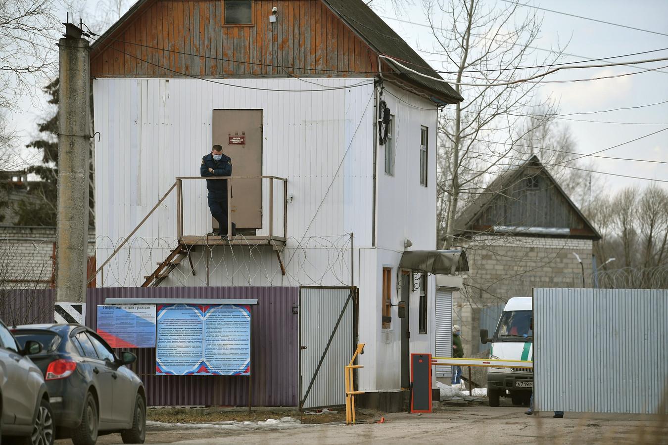Het strafkamp waar Navalny wordt opgesloten.