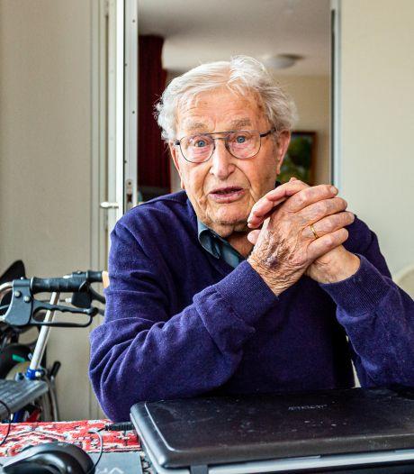 Gert (96) ontsnapt aan de dood in fabriek in nazi-Duitsland: 'Mijn lichaam rilde en trilde'