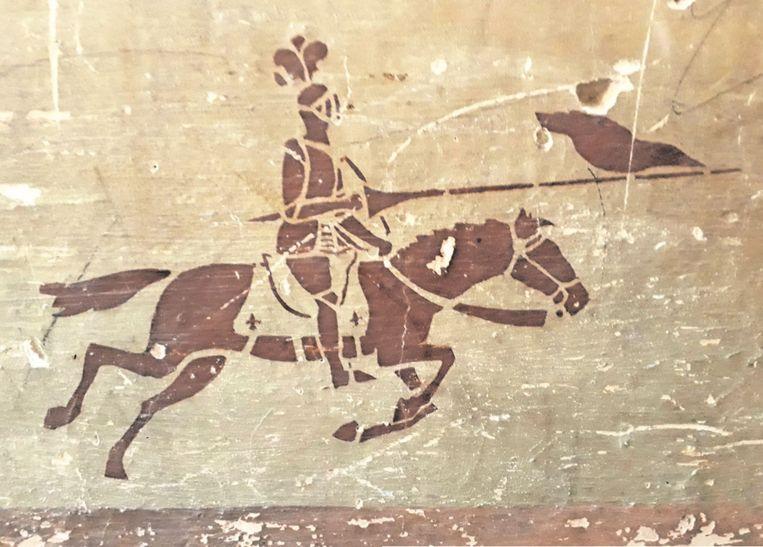 Op de tekeningen zijn cowboys, indianen, ridders en scouts te zien. Beeld C. Fonds Saint-Boniface, Bruxelles
