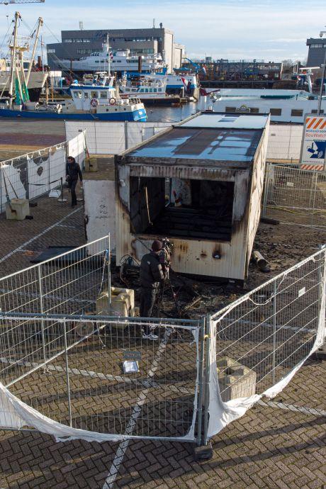 Man (21) uit Emmeloord aangehouden voor brand op GGD-teststraat op Urk