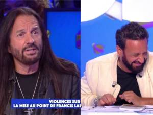 Cyril Hanouna se perd dans un fou rire incontrôlable et irrite Francis Lalanne