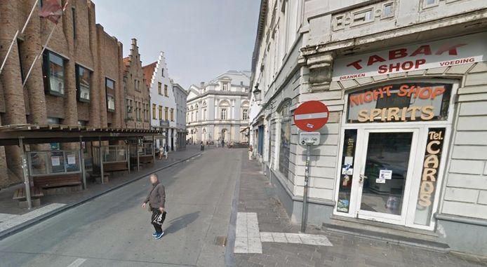 Het onderzoek ging van start met vaststellingen in de Brugse Kuipersstraat.