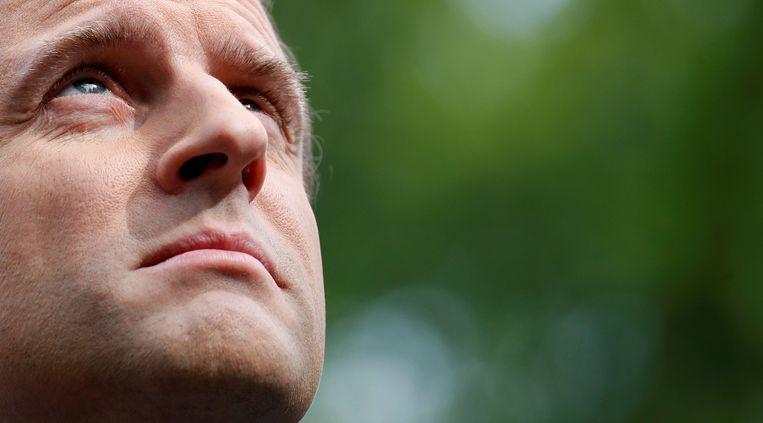 Kan Emmanuel Macron bij verkiezing zijn vernieuwing doortrekken naar het parlement?. Beeld REUTERS