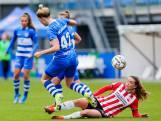PEC Zwolle Vrouwen scoort niet en dan zijn de gevolgen voorspelbaar