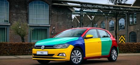 Kleurrijkste auto aller tijden keert nog één keer terug, maar is niet te koop