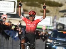 Quintana wint op Mont Ventoux koninginnenrit in de Ronde van de Provence