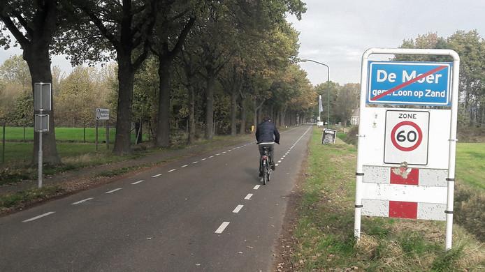 Aan beide kanten van de Zijstraat en de Kegelaar tussen De Moer en Kaatsheuvel komen rode fietsstroken. Het bestaande fietspad links van de weg verdwijnt.