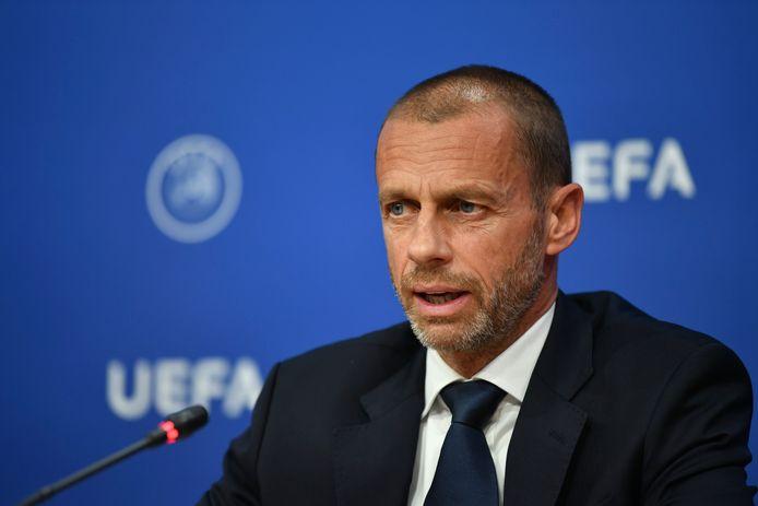 UEFA-voorzitter Aleksander Ceferin