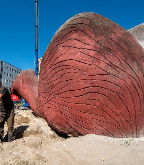 Het Feestaardvarken is nu echt weg; 'Alles klopte op deze plek in het Bartokpark'