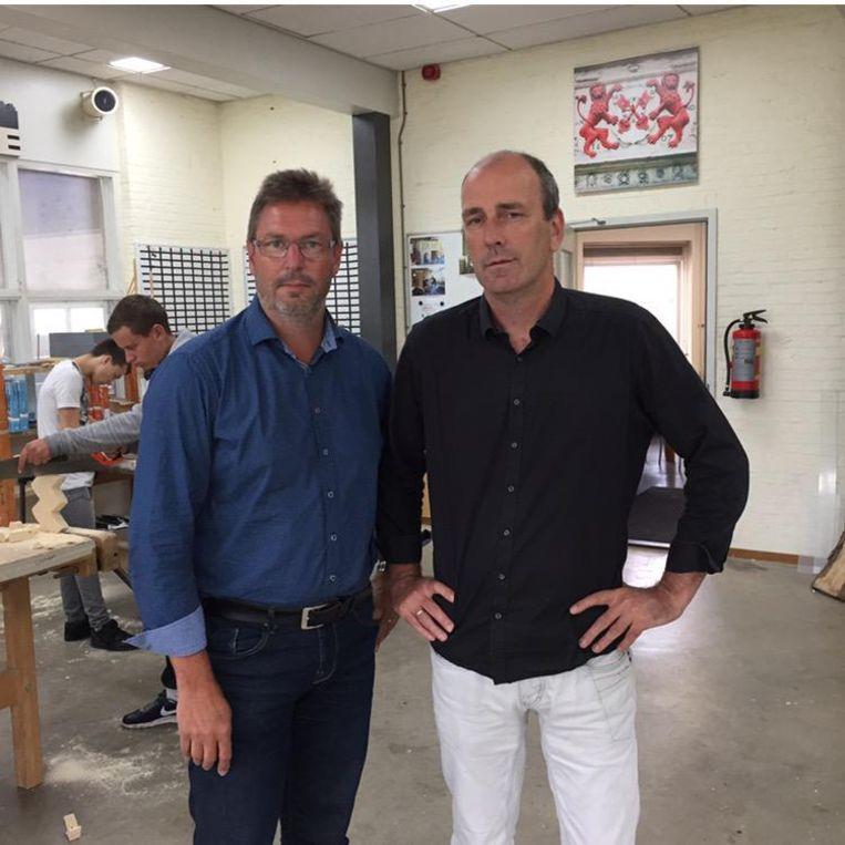Wim Schouten en Mark Elings: 'Schooladviezen worden 'compleet geregisseerd' voor kinderen' Beeld