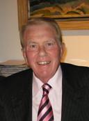 Portret van wijlen Jaap Blokker, grote man van het concern tussen 1973 en 2011.