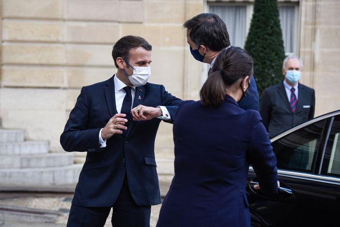Emmanuel Macron et Alexander De Croo