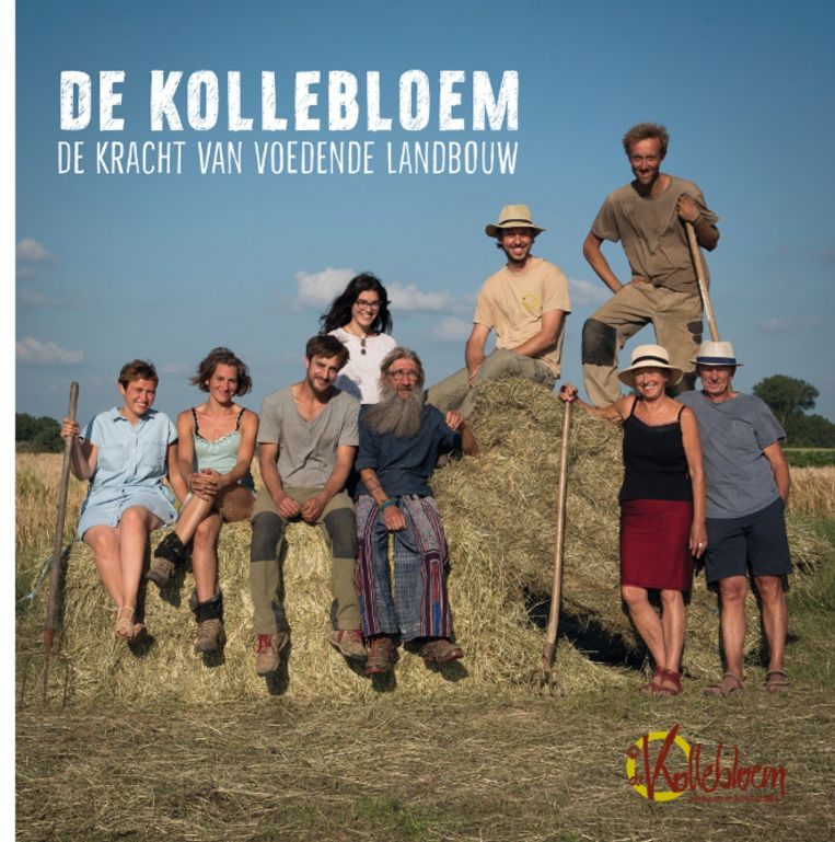 In het boek nemen de bioboeren de lezer mee op hun boerderij