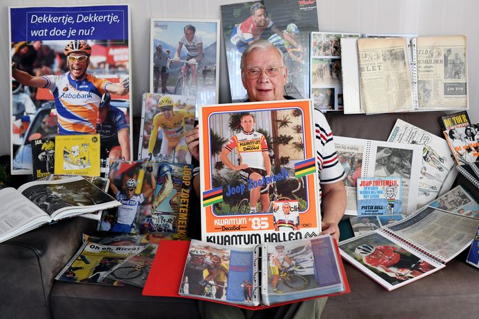 Harry van Doren verzamelt alles over de Tour de France. Foto PixProfs/Jan Stads