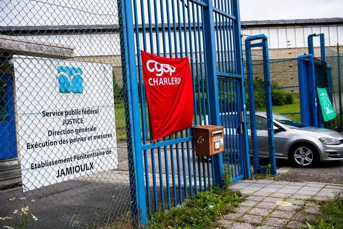 La prison de Jamioulx (Hainaut).