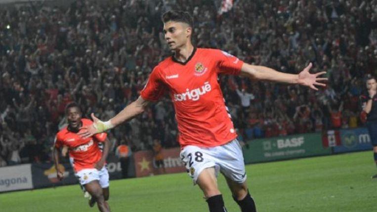 Naranjo stond vorig seizoen 16 keer aan het kanon in de Spaanse tweede klasse.