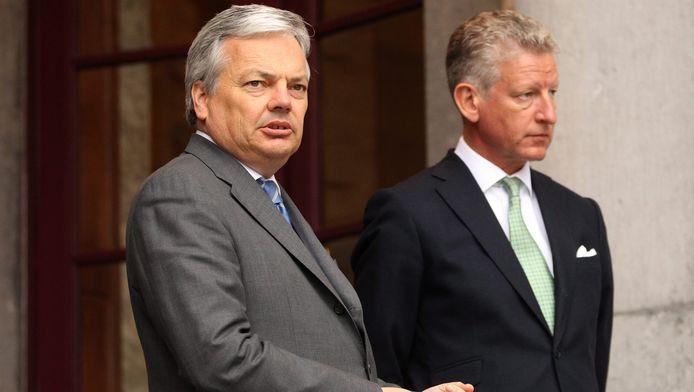 Didier Reynders et Pieter de Crem
