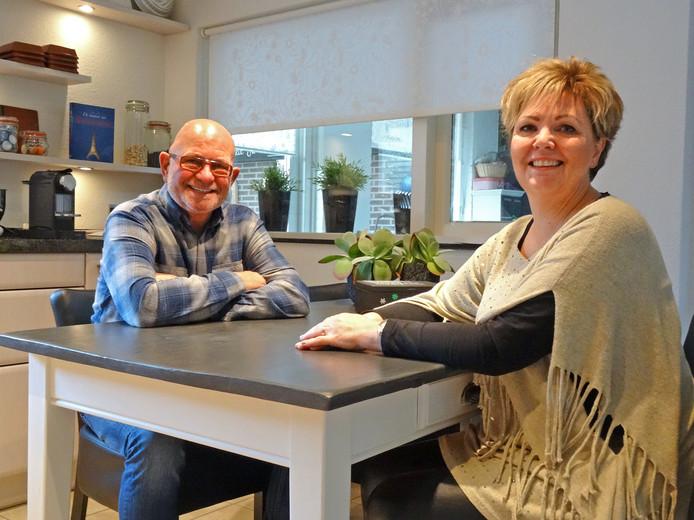 Sibylla Lemmers en Marijn Peters willen hun woning graag splitsen