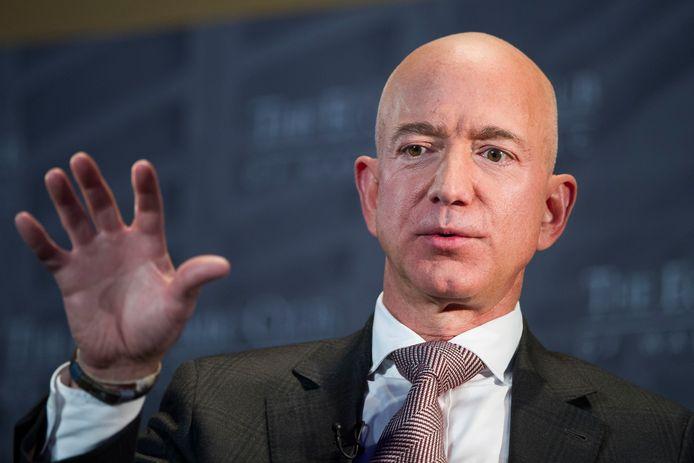 Jeff Bezos vertelt tijdens een meeting van The Economic Club of Washington.
