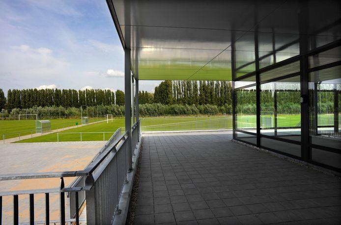 SVO's sportpark De Kempkes vlak na de nieuwbouw in 2009.