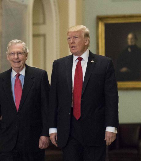 Republikeinse partij scheurt door nasleep van Trumps nederlaag en zijn radicale gedrag