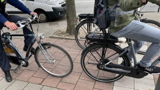 25 fietsers beboet op de Diksmuidelaan en Herentalsebaan