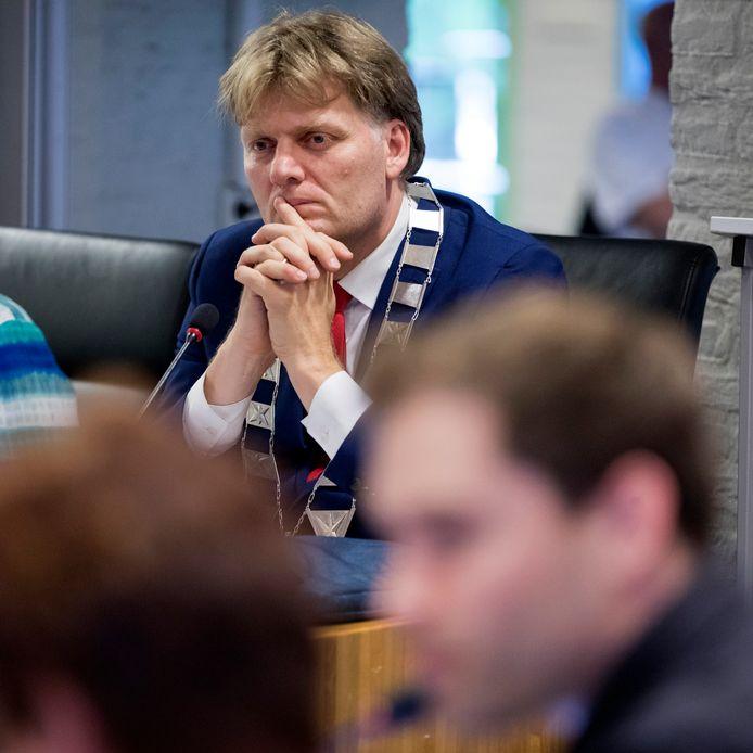 Nederland,  Vlijmen, de beoogde nieuwe burgemeester van Zaandam, Jan Hamming